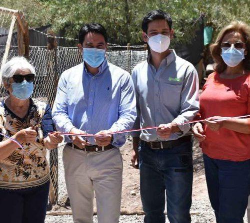 Inauguran dos plantas de tratamiento de aguas residuales en Hacienda Manflas